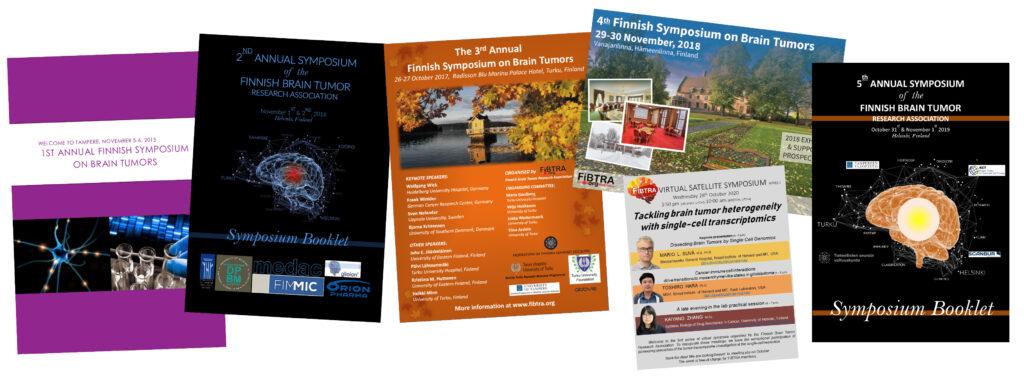 Fibtra symposiums since 2015